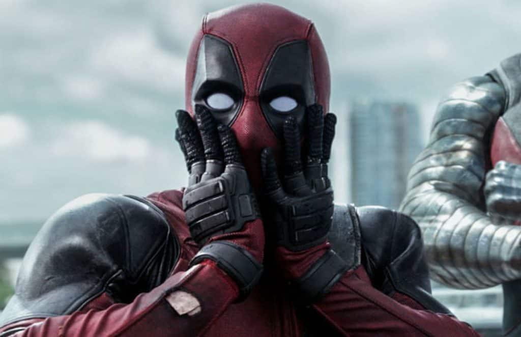 Deadpool looks surprised