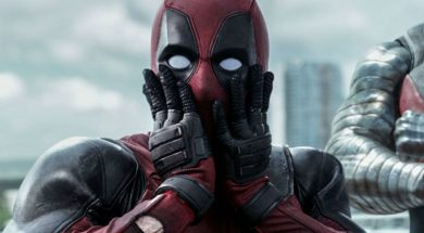Deadpool looks surprised