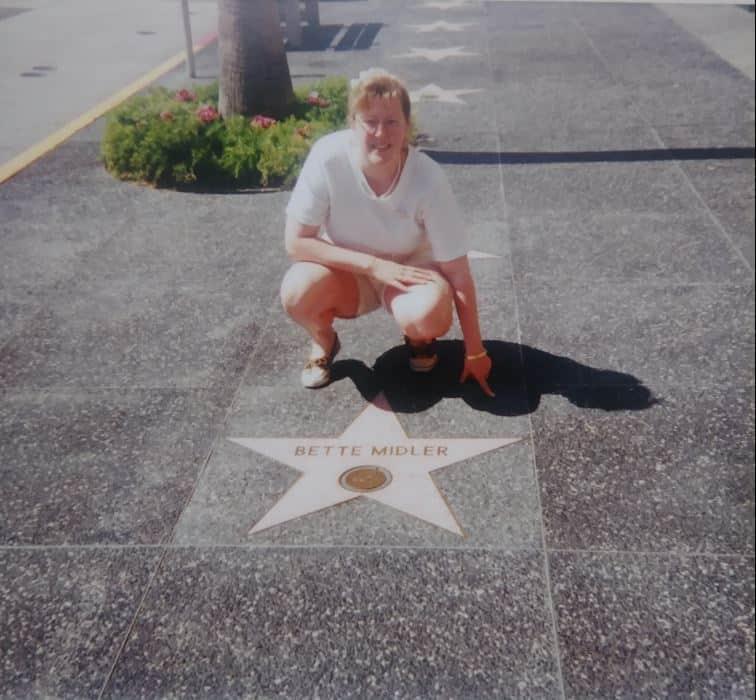 Maggie at Universal Studios Florida 1993