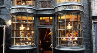 Ollivander's Wand Shop at The Wizarding World of Harry Potter - Diagon Alley