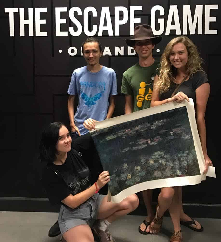 We escaped from The Heist at The Escape Game Orlando.