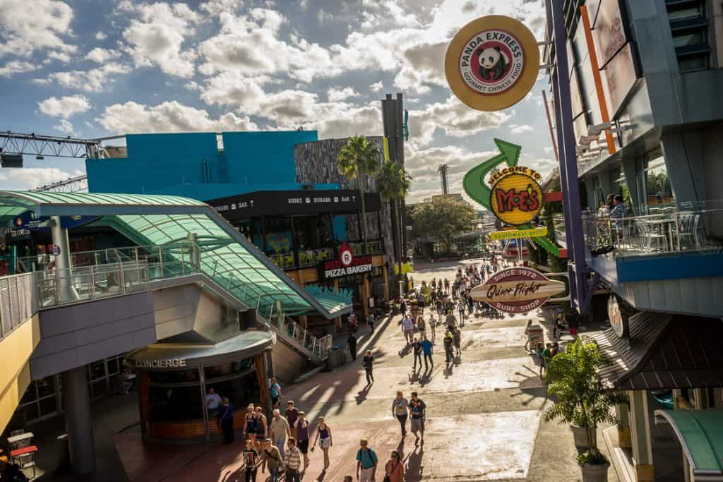 Universal CityWalk is the gateway to Universal Orlando Resort.