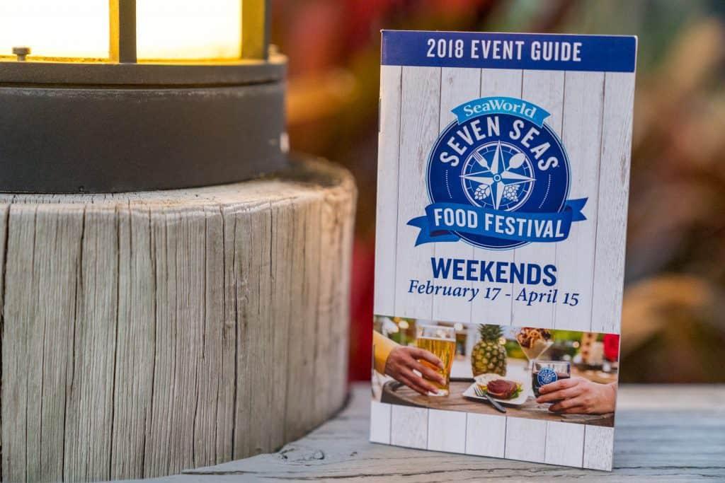 SeaWorld Seven Seas Food Festival Event Guide