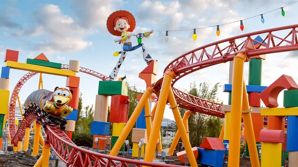 Slinky Dog Dash at Disney World's Toy Story Land
