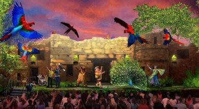 Up show at Disney's Animal Kingdom