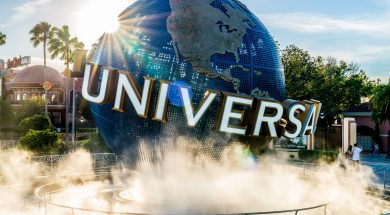 Universal Orlando Resort globe