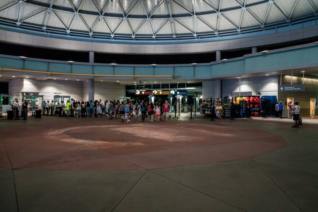 Security Checkpoint at Universal Orlando
