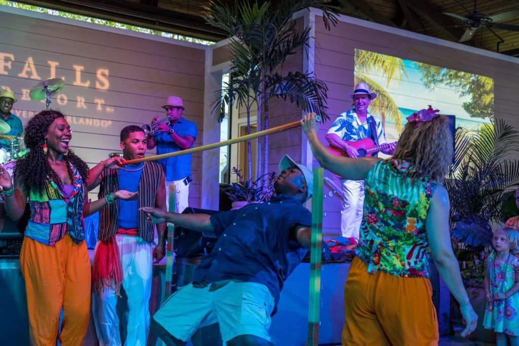 Caribbean Carnaval at Sapphire Falls