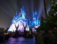 The Magic of Christmas at Hogwarts Castle in The Wizarding World of Harry Potter - Hogsmeade at Universal's Islands of Adventure
