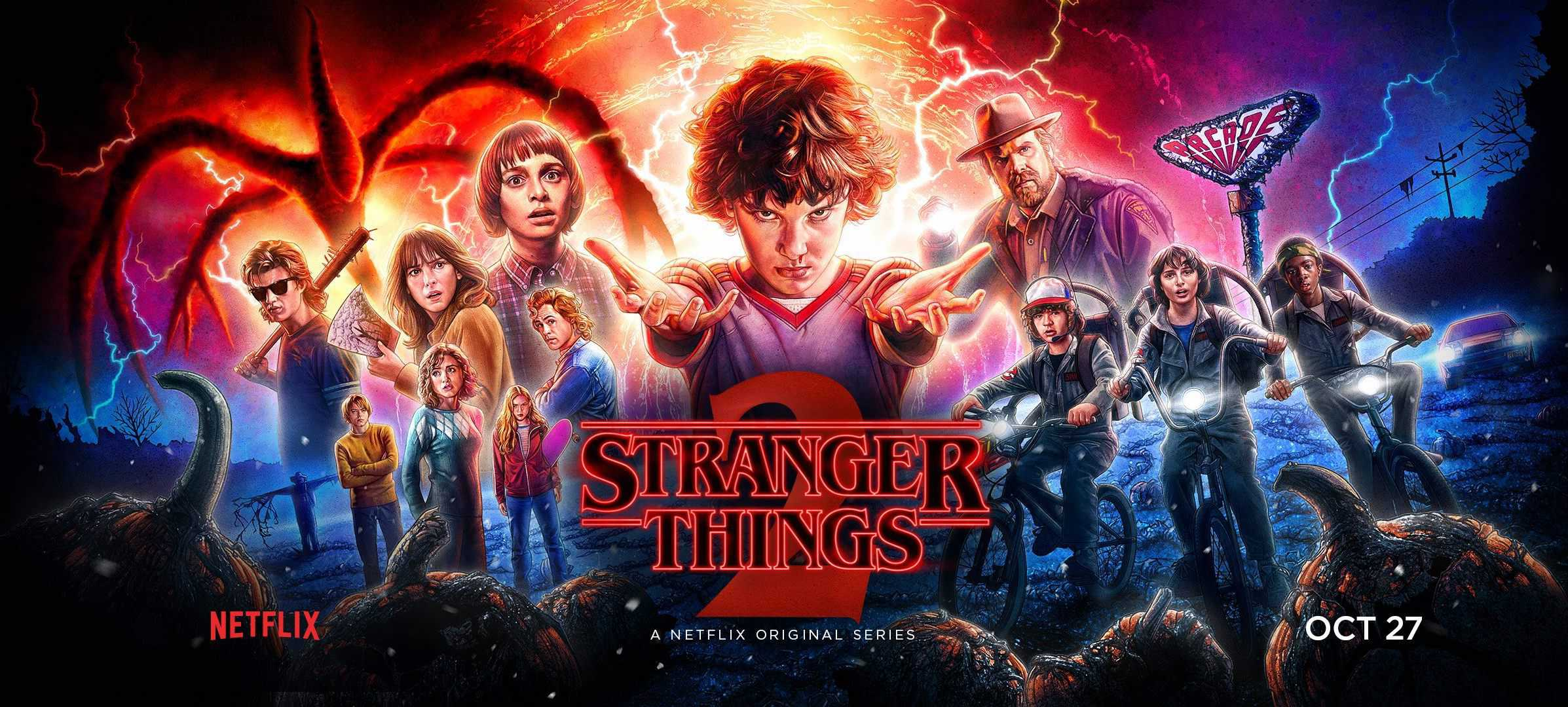 Stranger Things announced for Halloween Horror Nights 2018