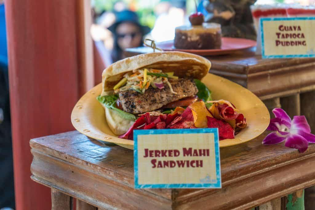 Jerked Mahi-Mahi Sandwich