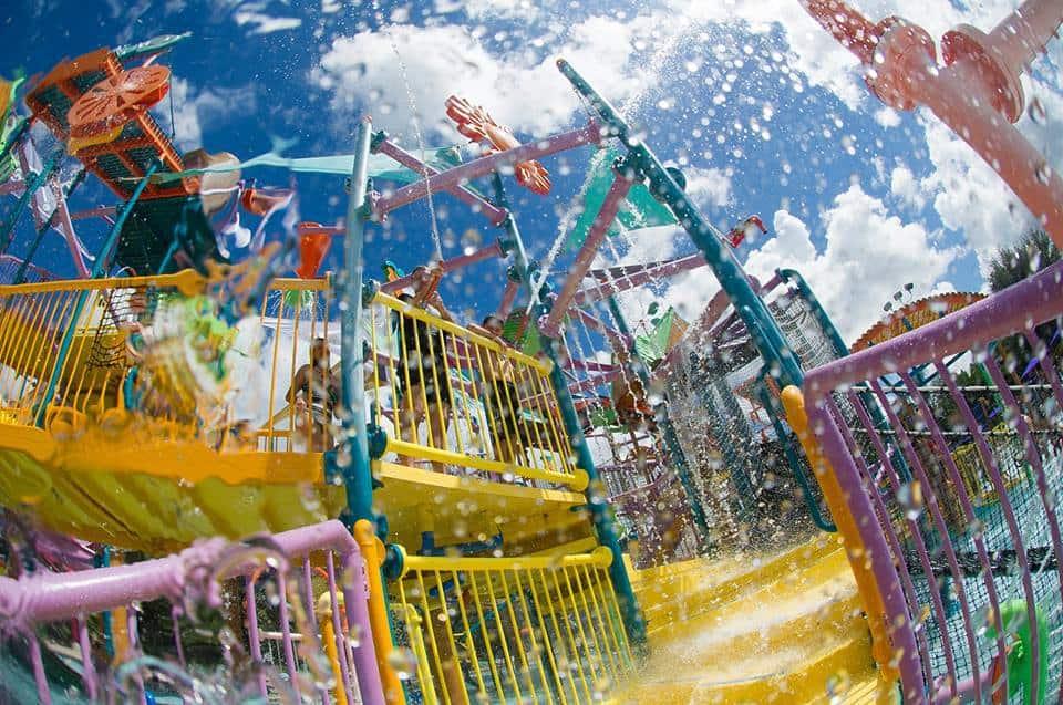 Kids play area in Aquatica