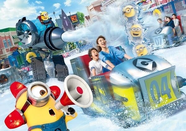 Minion Crazy Ice at Universal Studios Japan