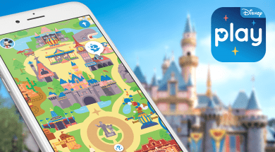 Play Disney Parks app at Walt Disney World