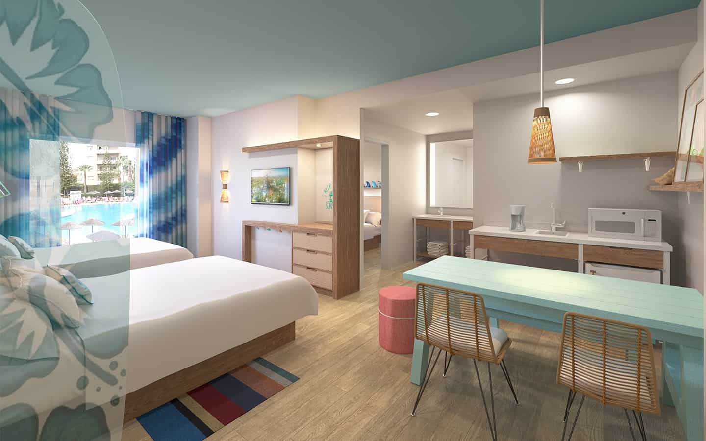 REVEALED: Universal's Endless Summer, the seventh (and eighth) hotel