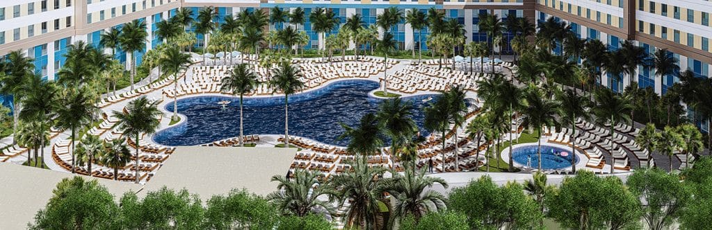 Universal's Surfside Inn and Suites's pool