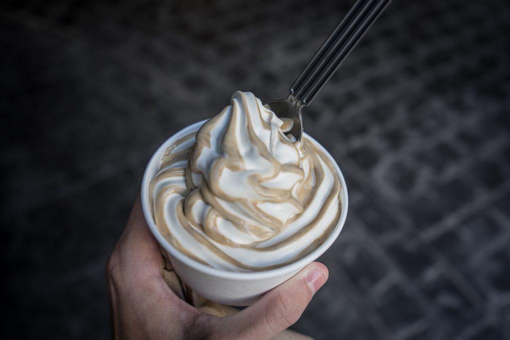 Butterbeer ice cream at Universal Orlando Resort