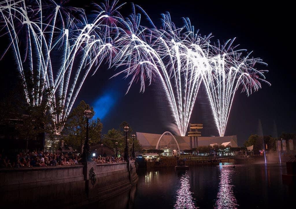Fireworks at Universal Studios Florida