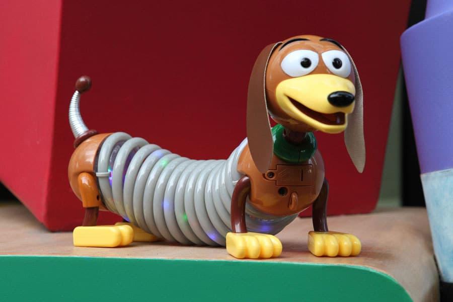 Light-Up Slinky Dog at Disney World's Toy Story Land