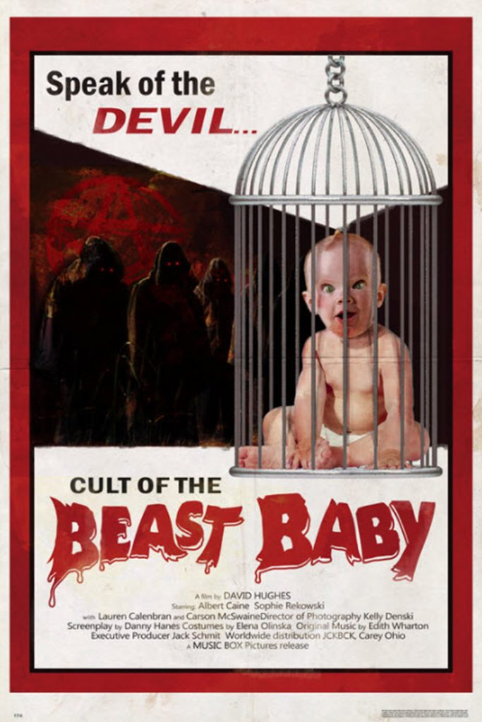 """Cult of the Beast Baby"" at Halloween Horror Nights 2018's Slaughter Sinema"