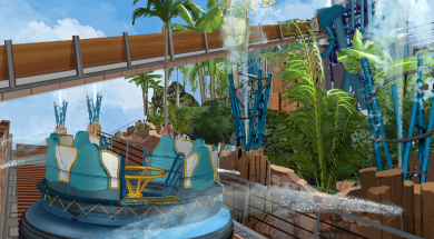 Infinity Falls at SeaWorld Orlando concept art