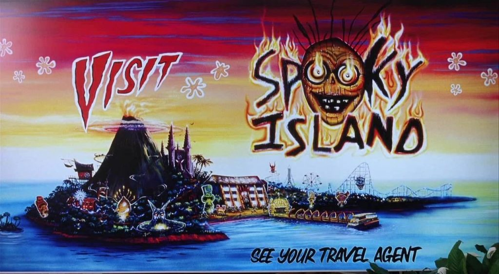 Spooky Island from Scooby-Doo