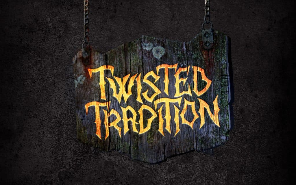 Twisted Tradition scare zone at Halloween Horror Nights 2018