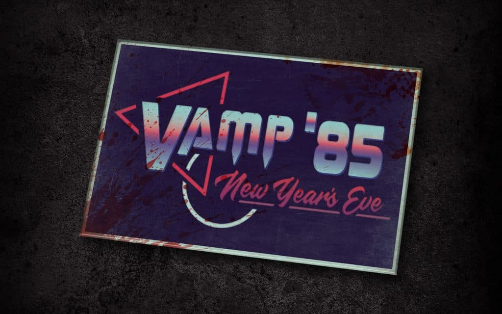 Vamp '85: New Year's Eve scare zone at Halloween Horror Nights 2018