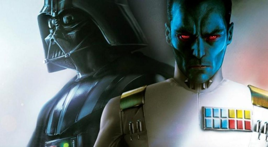 Darth Vader and Thrawn on Batuu
