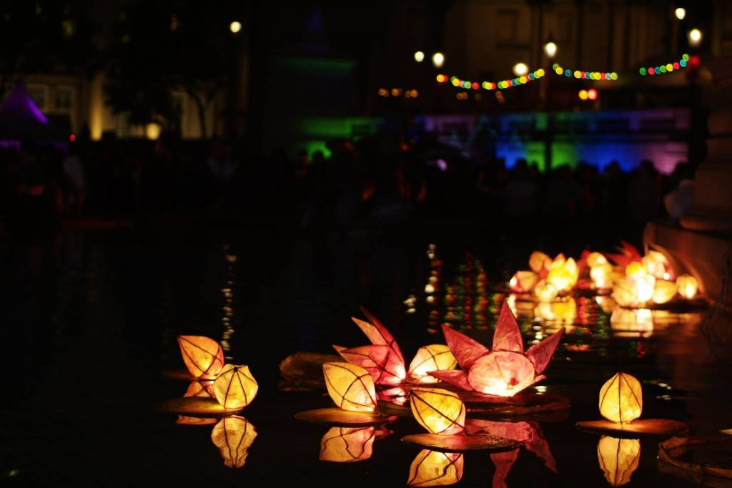 Diwali, the holiday Festival of Lights in India