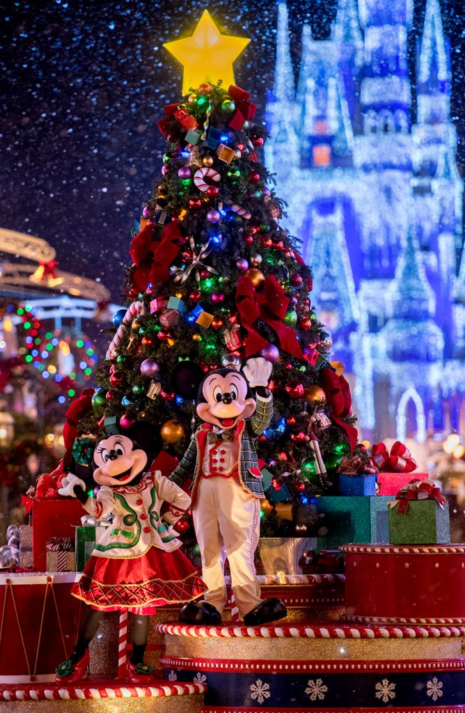 Magic Kingdom at Walt Disney World holidays 2018