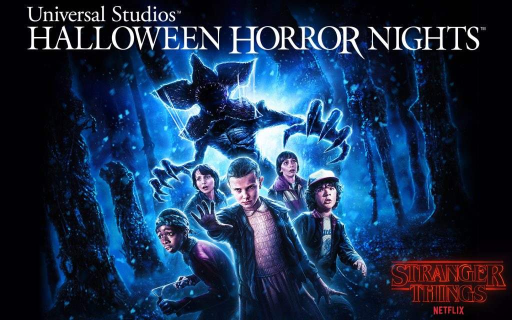 Stranger Things key art Halloween Horror Nights 2018