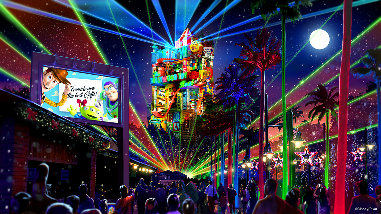 Disney's new Christmas celebrations include Toy Story Land in 2018