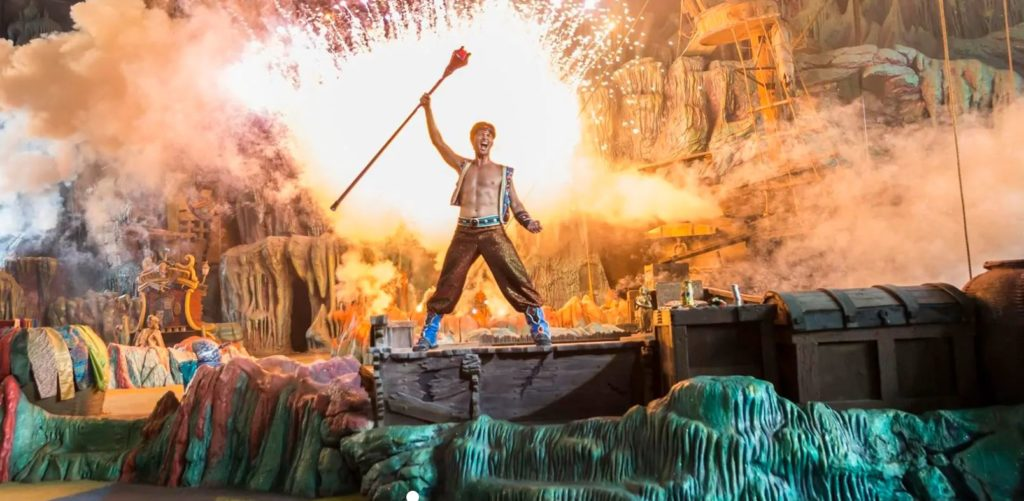 The Eighth Voyage of Sindbad at Islands of Adventure
