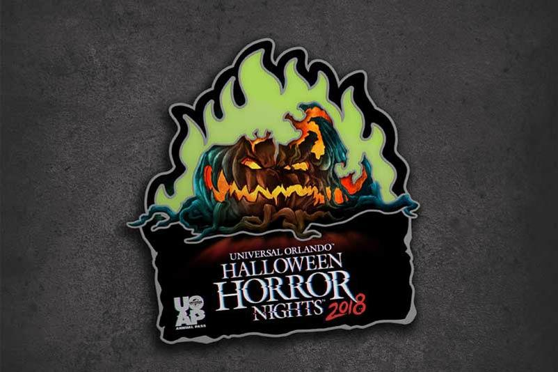 Exclusive annual passholder pin for Halloween Horror Nights 2018