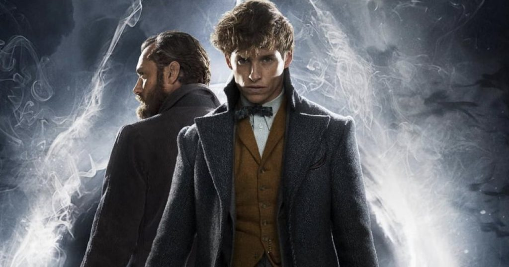 Newt Scamander and Albus Dumbledore in Fantastic Beasts and Where to Find Them