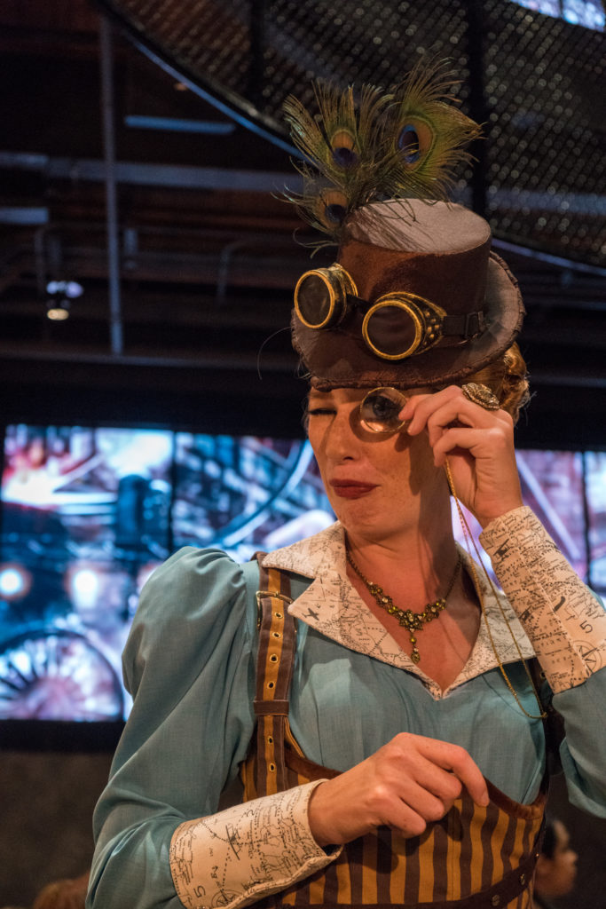 Penelope Toothsome at Toothsome Chocolate Emporium