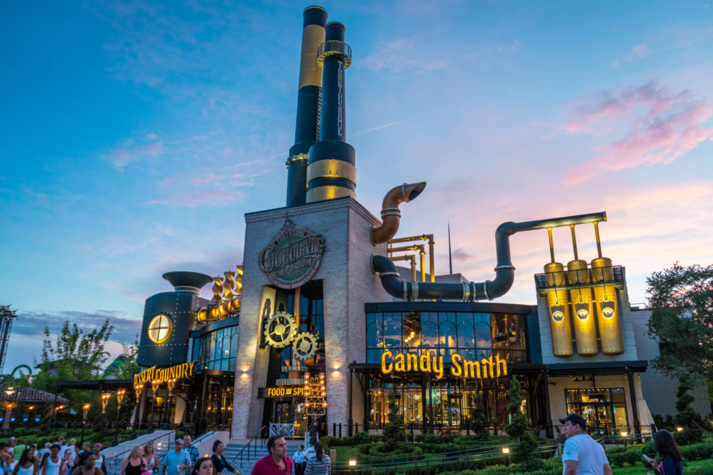 Toothsome Chocolate Emporium at Universal CityWalk Orlando