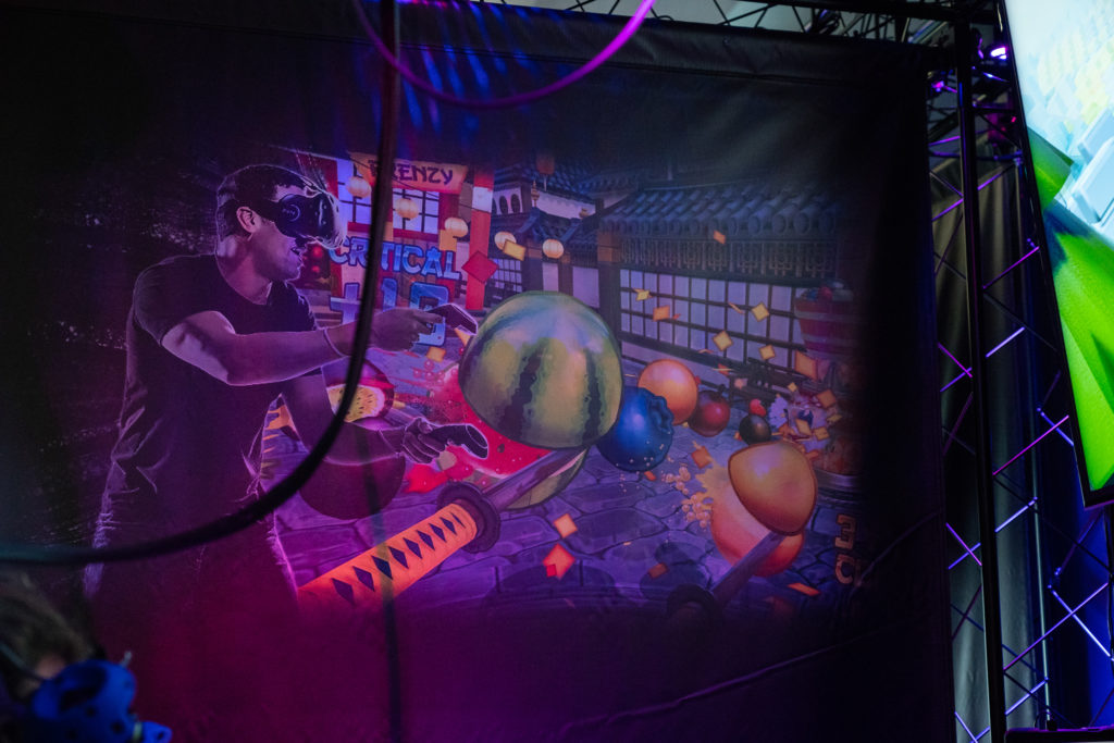 VR Game Room at Universal's Aventura Hotel