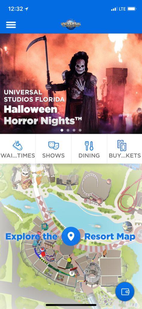Universal Orlando's new mobile order service