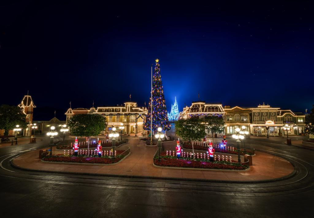 Holidays at Magic Kingdom