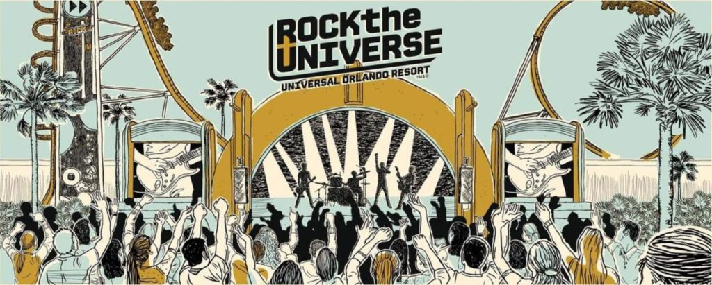 Rock the Universe at Universal Orlando Resort