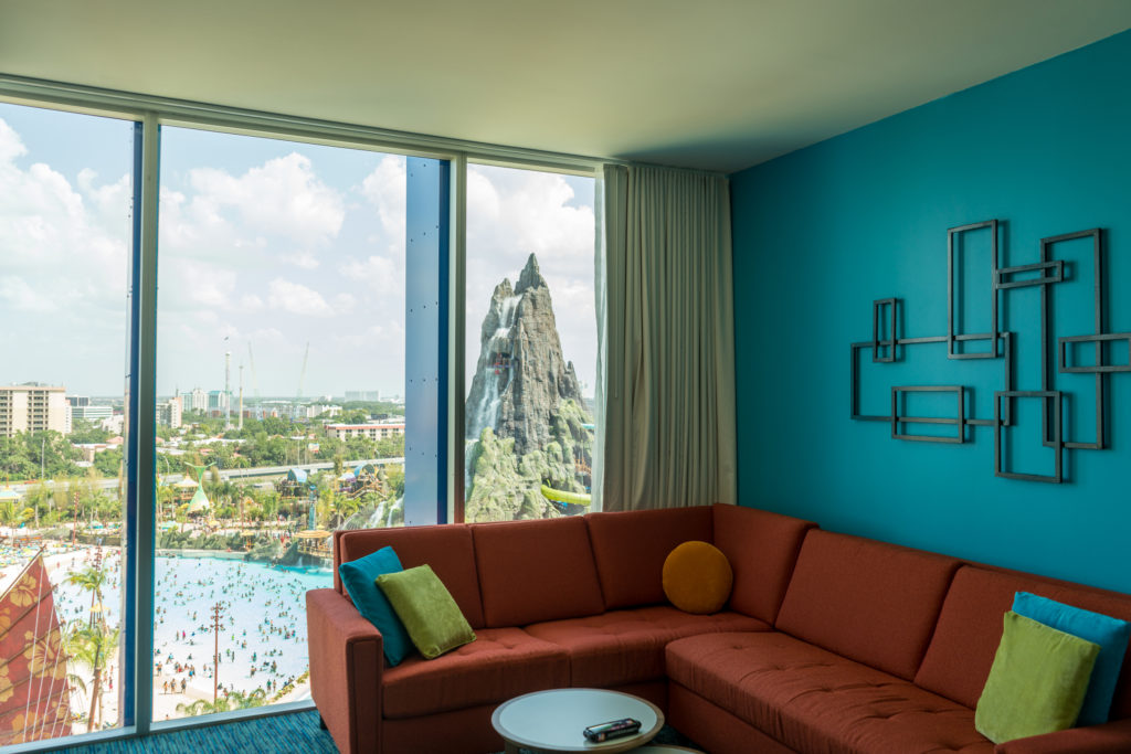 Cabana Bay Beach Resort two-bedroom suite
