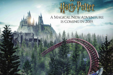 New Harry Potter roller coaster
