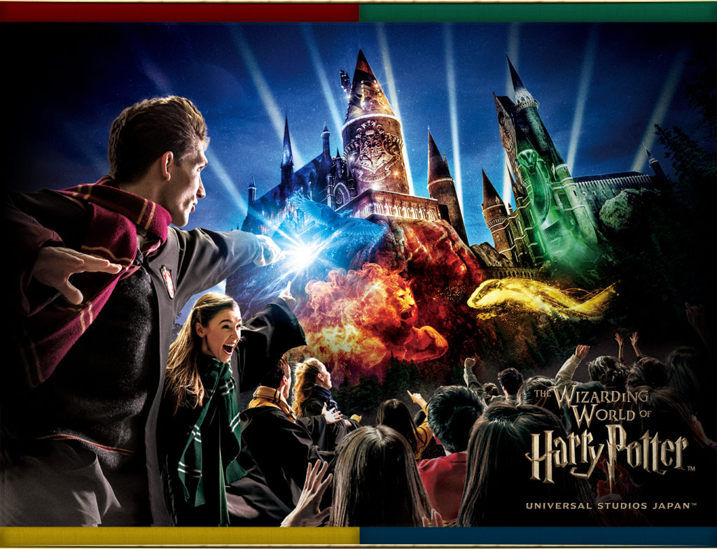 Hogwarts Magical Celebration at Universal Studios Japan