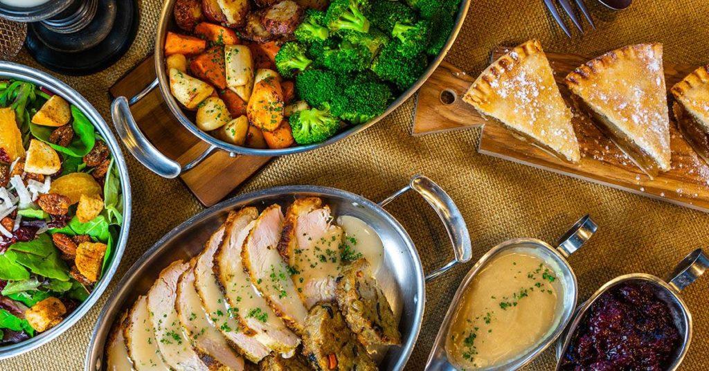 Universal Orlando's quick-service Thanksgiving dinner