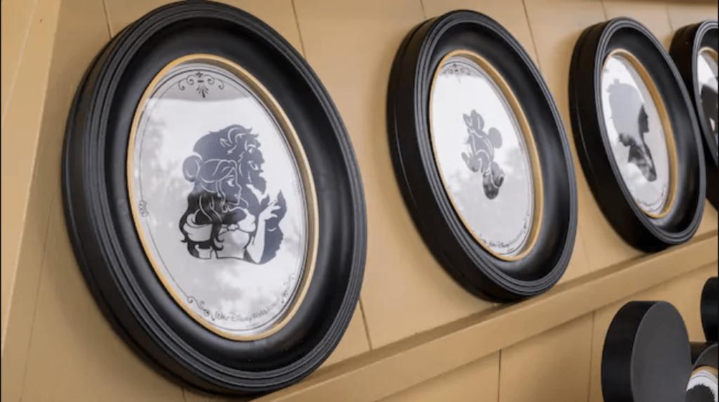 Walt Disney World silhouette souvenirs