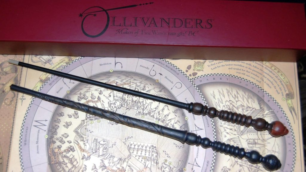 Wands from The Wizarding World of Harry Potter