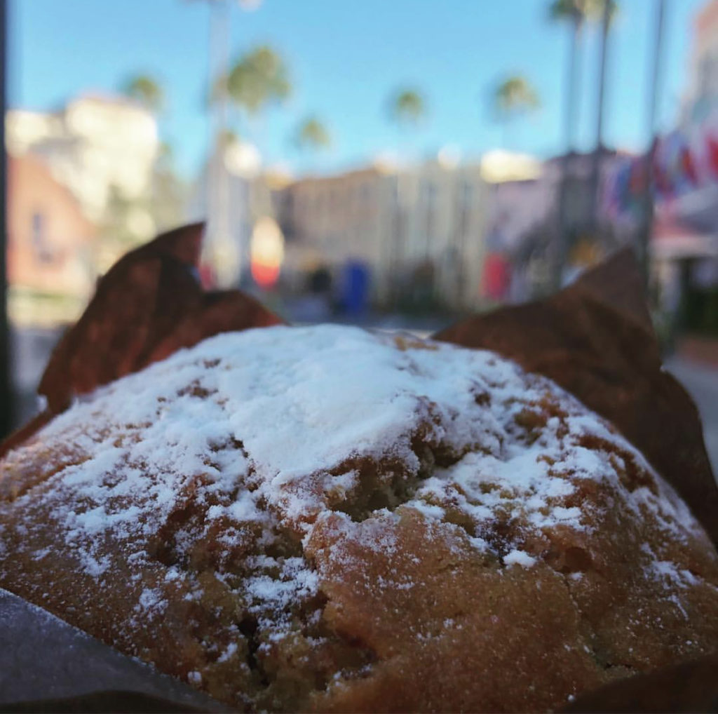 French Toast Muffin at Universal Studios Florida