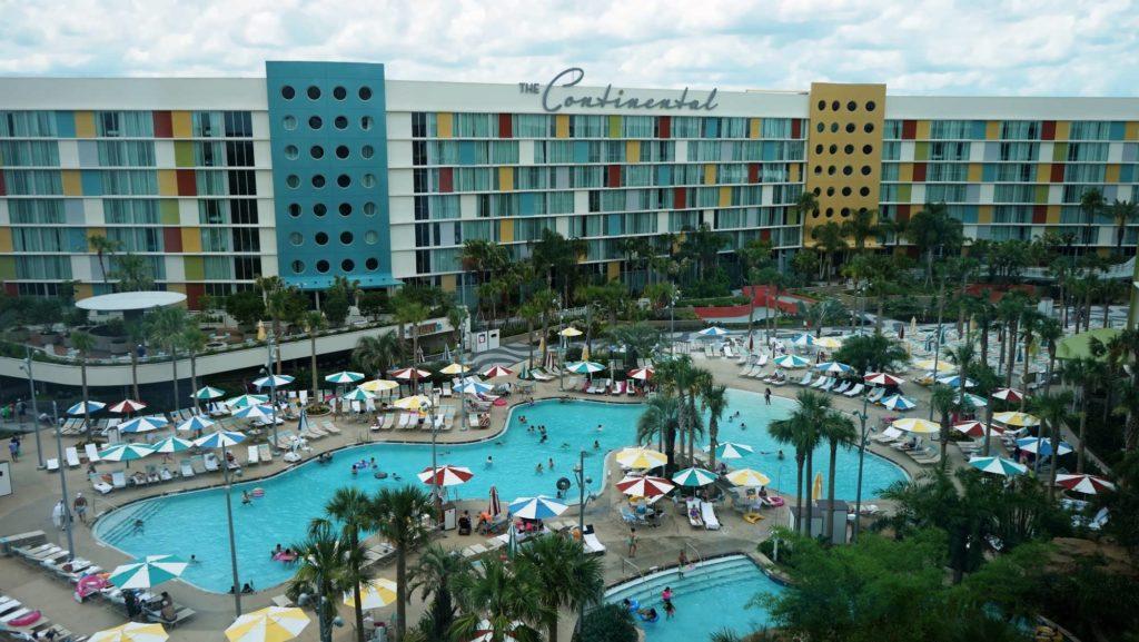 Cabana Bay Beach Resort South Courtyard pool at Universal Orlando
